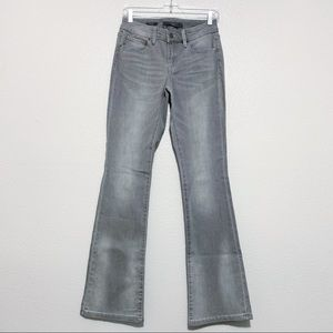 The Limited Gray Regular Bootcut Denim Jeans